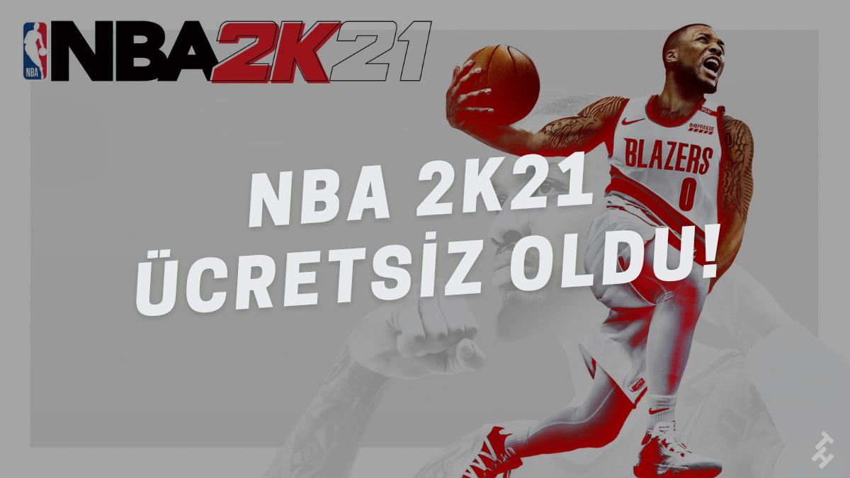 429₺ değerindeki NBA 2K21 oyunu, Epic Games Mağazası'ndan ücretsiz olarak edinilebilinecek. Detaylı bilgi için makalemizi okuyabilirsiniz.