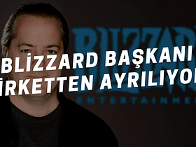 Activision Blizzard başkanı J. Allen Brack, başkanlık görevini üstlendiği Blizzard şirketinden ayrılıyor. Yeni Blizzard başkanı kim olacak?