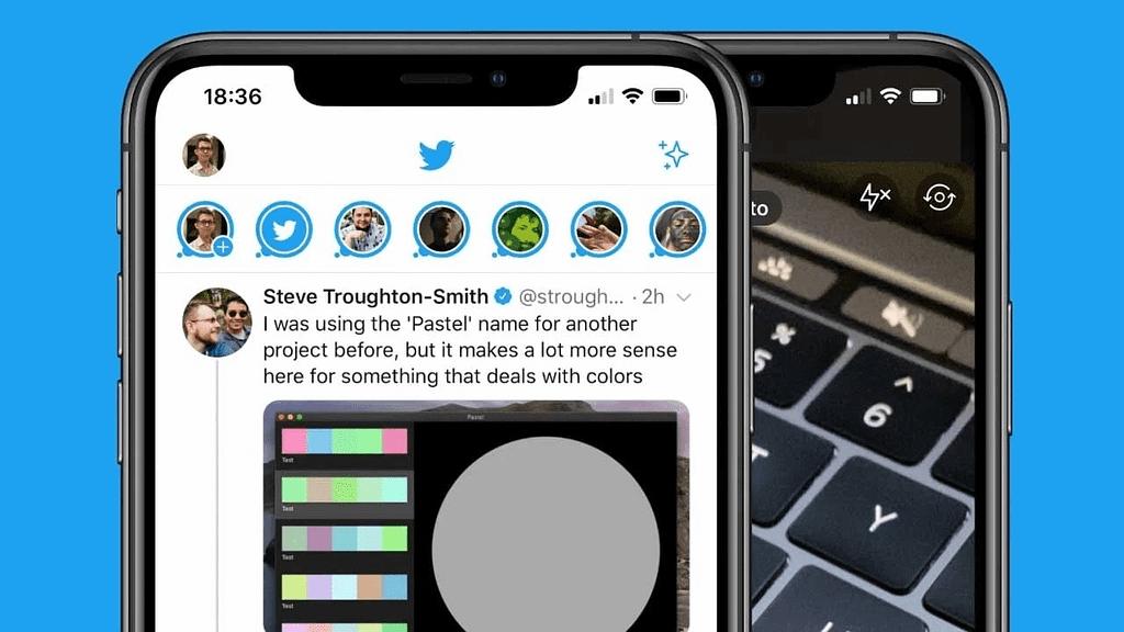 Twitter Fleets Görüntüsü