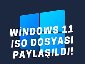 Microsoft, resmî Windows 11 ISO dosyalarını bugün itibariyle kullanıma sundu. Windows 11 ISO dosyası nasıl indirilir, nasıl kurulur?