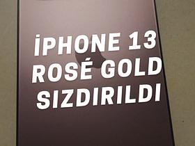 Apple'ın bu sene Eylül ayında tanıtacağı iPhone 13 serisinin sürpriz rengi ortaya çıktı. iPhone 13 Rose Gold rengi hakkında daha fazla bilgi edinin.
