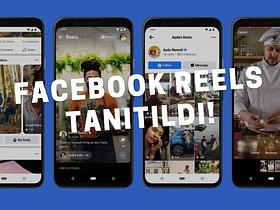 Facebook, Instagram uygulamasının yeni ve popüler Reels özelliğini Facebook'a dahil ediyor. Tiktok'a rakip Facebook Reels tanıtıldı!