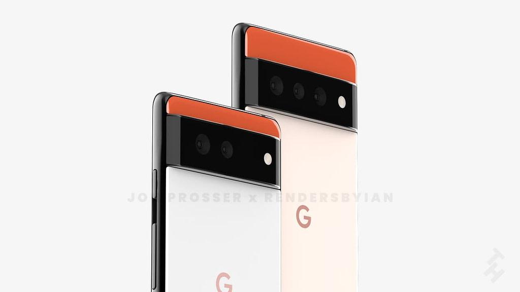 Google tarafından üretilen amiral gemisi Pixel serisinin bu yıl çıkacak olan yeni modelleri 6 ve 6 Pro değişen kamera tasarımıyla sızdırıldı.